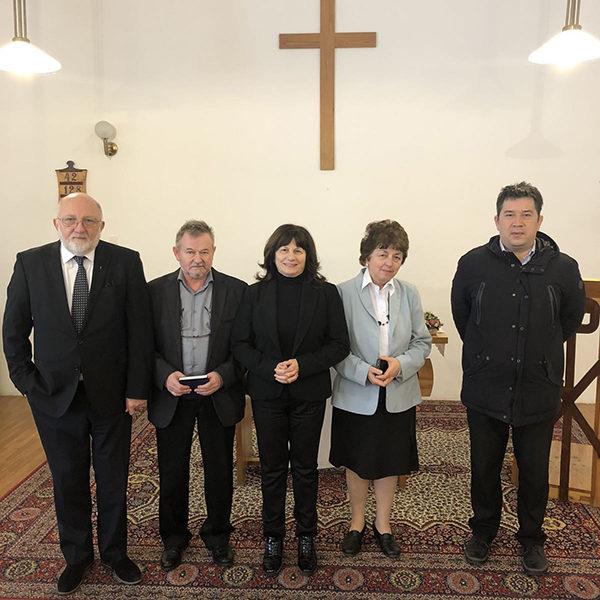 Helynöki vizitáció Pécsen