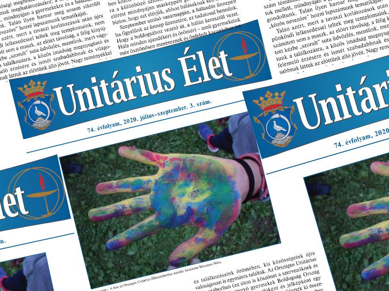 Megjelent az Unitárius Élet új száma